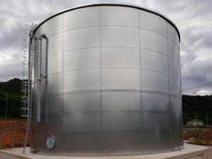 Serbatoi cilindrici capacità 1120 MC