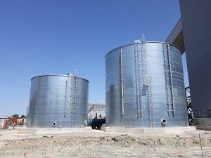Serbatoi cilindrici capacità 600 -+- 2200 MC